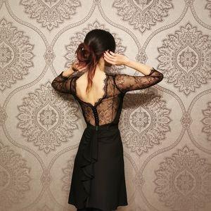 BCBG MaxAzria little black dress